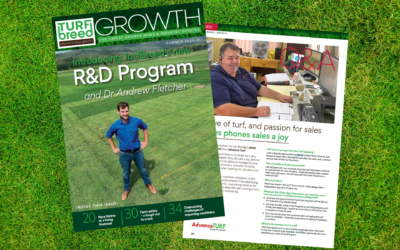Advance Turf featured in Growth Magazine